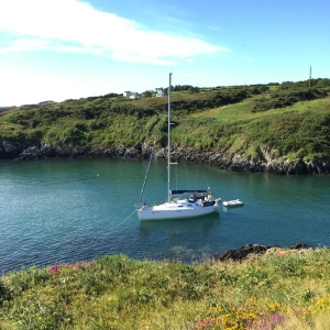 Yacht, Goleen Harbour, anchored, Sail Cork,
