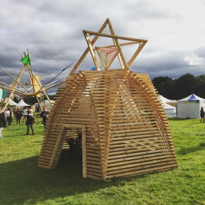 Interesting structure at Body & Soul @ Electric picnic this year.